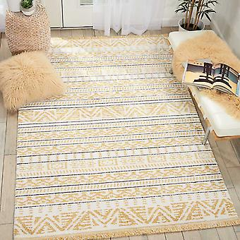Kamala Rugs Ds503 By Nourison In Yellow