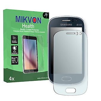 Samsung S6818 Galaxy Fame Screen Protector - Mikvon Health (Retail Package with accessories)