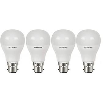 4 x Sylvania ToLEDo GLS B22 5.5W Homelight LED 470lm [Energy Class A+]