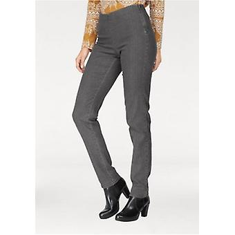 Cheer simple ladies Jeggings long size plus size grey