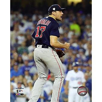 Nathan Eovaldi gry 3 2018 World Series Photo Print