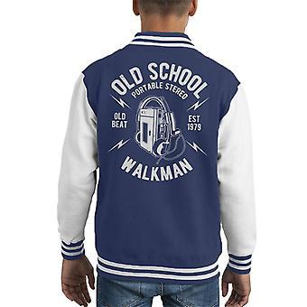 Gamle skolen Walkman barneklubb Varsity jakke