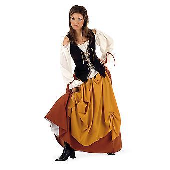 Peasant of medieval ladies costume medieval dress ladies costume peasant dress
