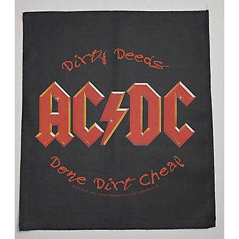 Ac/Dc  Dirty Deeds Patch 36*40 Cm