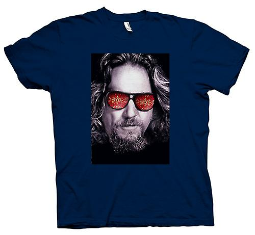 Herr T-shirt - broar - Big Lebowski - glasögon