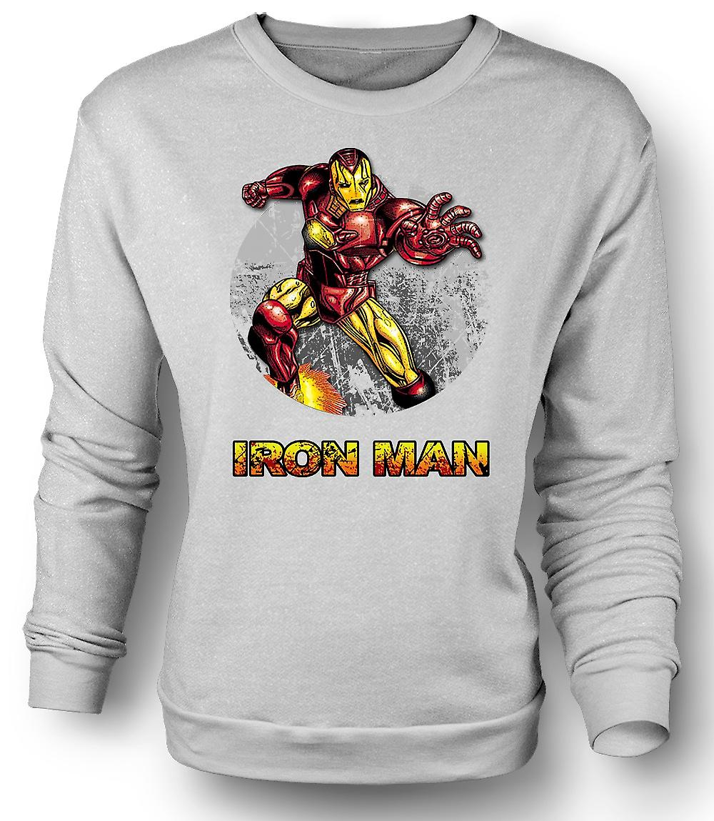 Mens Sweatshirt Ironman - Comic Super-Helden