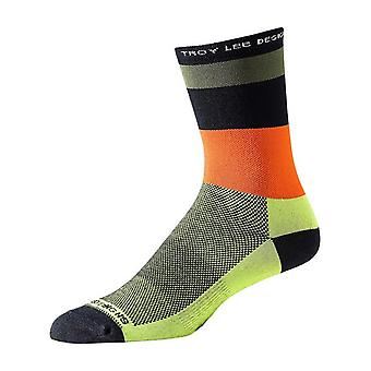 Troy Lee Designs Green Ace Performance Crew Socks