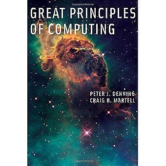 Store prinsippene i databehandling