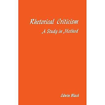 Rhetorical Criticism: A Study in Method