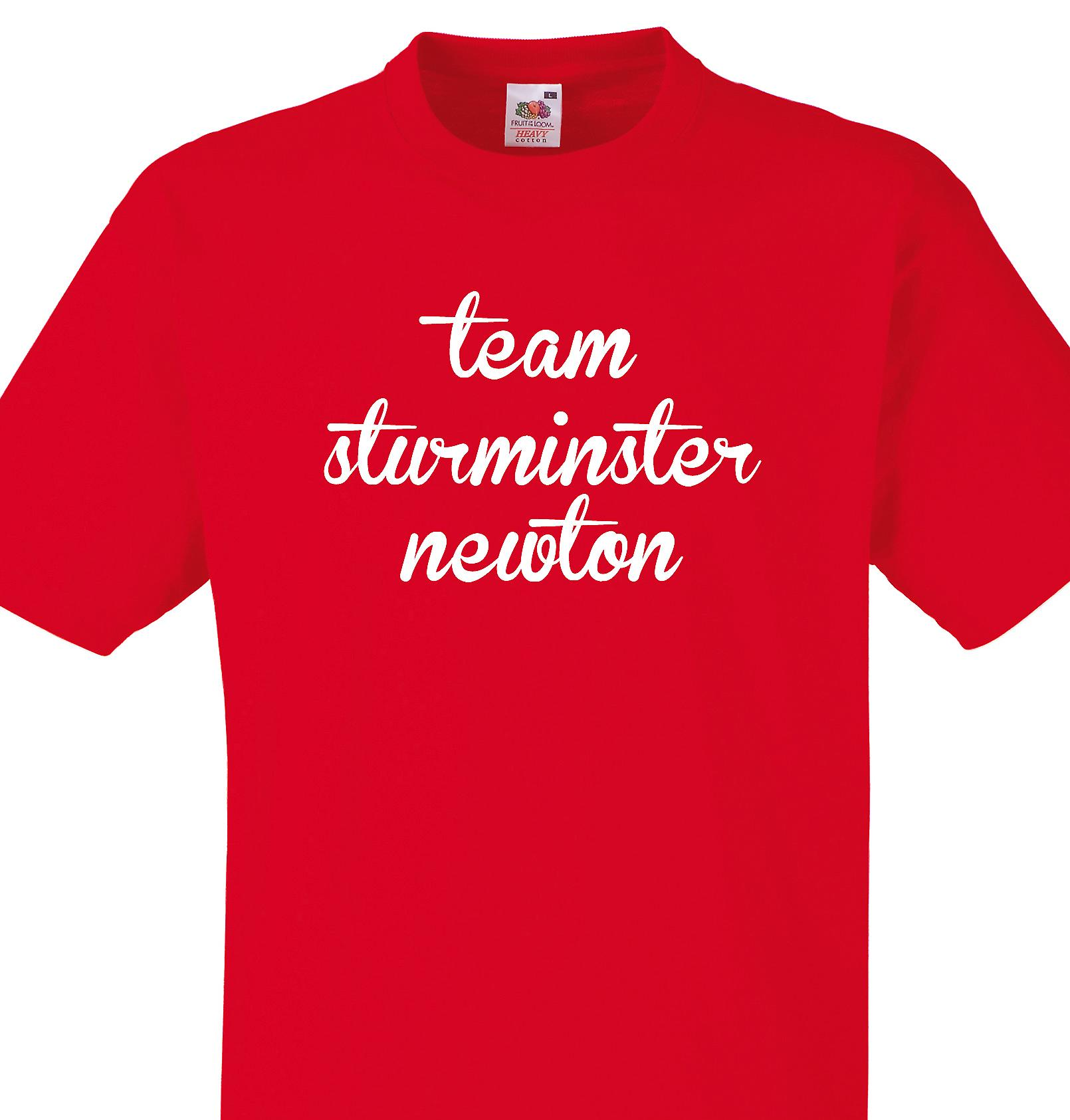 Team Sturminster newton Red T shirt