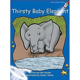 Thirsty Baby Elephant (Red Rocket Readers)