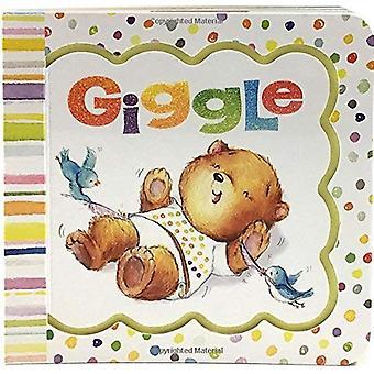 Giggle: Keepsake Greeting Card Board Book (Little Bird Greetings) [Board book]