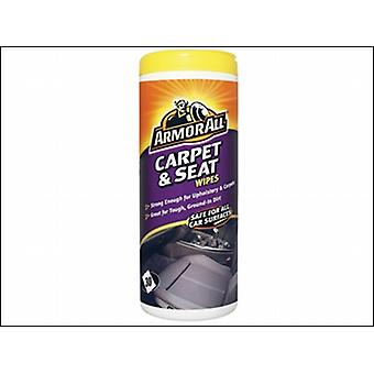 Armorall Carpet & Seat Wipes Tub Of 30