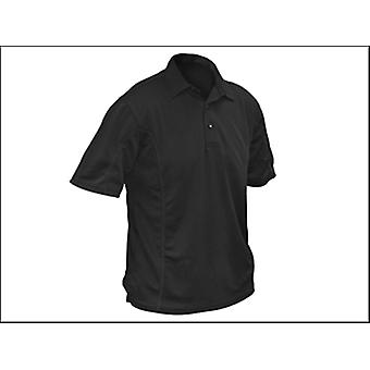 Roughneck Clothing Quick Dry Polo Shirt Black - L