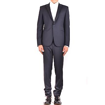 Brian Dales Black Wool Suit