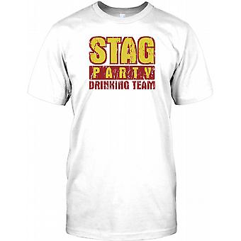 Stag Party Drinking Team - Stag Do Kids T Shirt