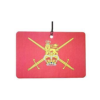 British Army Flag Car Air Freshener