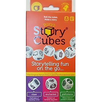 Rory es Story Cubes Travel Bundle Dice Set