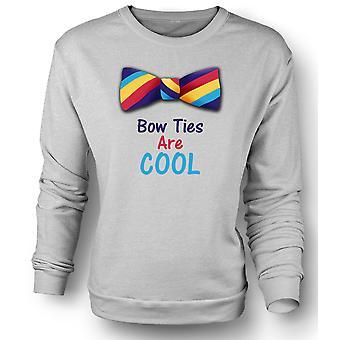Mens Sweatshirt Bow båndene er kul morsom