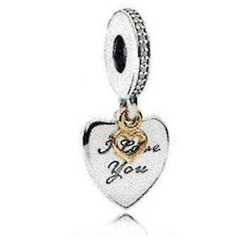 Pandora liebe dich für immer hängen Charme - 792042CZ