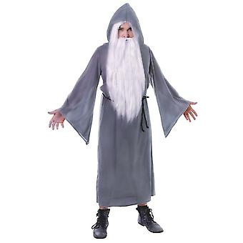 Bristol Novelty Mens Wizard Cloak Costume
