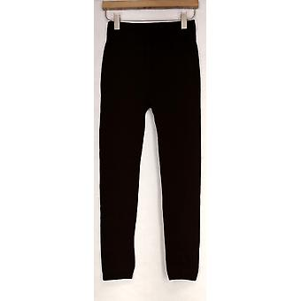 Kate & Mallory Leggings Seamlesswith Fleece Lining Brown Womens A428086