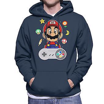 Lever Mario Men's Hooded Sweatshirt