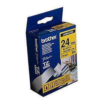 Brother TZe651 Labeling Tape Laminated 24 Mm