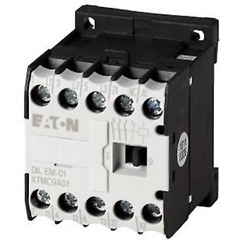 Eaton DILEM-01-G(24VDC) Contactor 1 pc(s) 3 makers 4 kW 24 Vdc 9 A + auxiliary contact