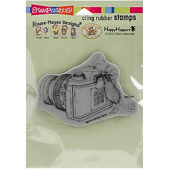 Stampendous House Mouse Cling Rubber Stamp 6.5