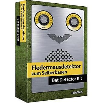 Kurset materiale Franzis Verlag Fledermausdetektor / Bat detektor Kit 978-3-645-65276-6 14 år og over