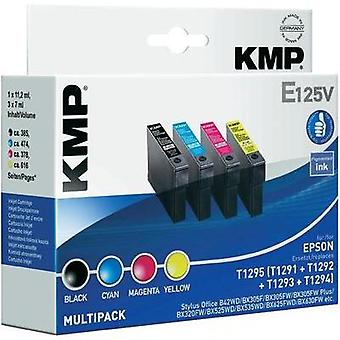 KMP Ink replaced Epson T1291, T1292, T1293, T1294 Compatible Set
