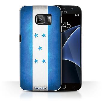 STUFF4 Case/Cover for Samsung Galaxy S7/G930/Honduras/Honduran/Flags