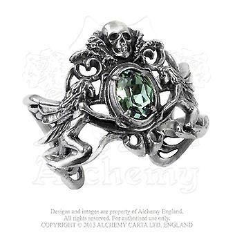 Alkymi gotiske La Fleur de Baudelaire armbånd