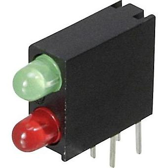 LED component Green, Red (L x W x H) 14.06 x 13.33 x 4.32 mm Dialight
