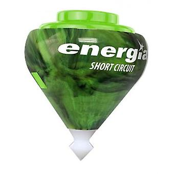 Fabrica De Juguetes Spinning Energy Green Black Marble