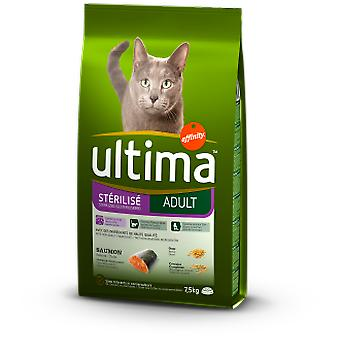 Ultima Sterilized Salmon & Barley (Cats , Cat Food , Dry Food)