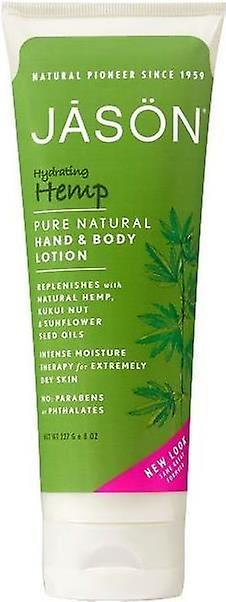 Jason Organic Hydrating Hennep Pure Natural Hand & Body Lotion