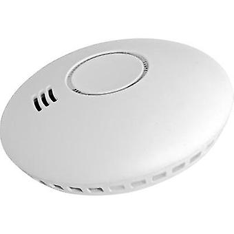 Wireless smoke detector network-compatible Cordes CC-80 battery-powered