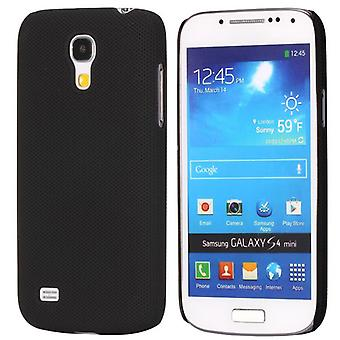 Dotted plastic hard cover for Samsung Galaxy S4 mini i9190 (black)