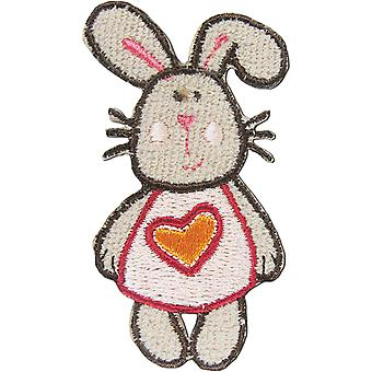 Iron-On Appliques-Rabbit A001300-235