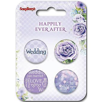 ScrapBerry's Happily Ever After Embellishments-#2 SCB1063