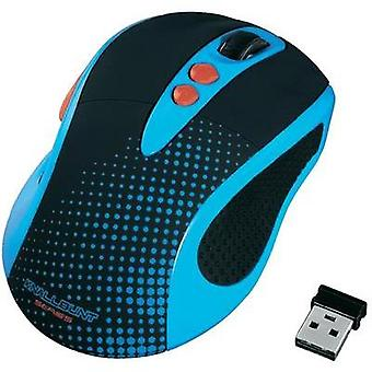 Wireless mouse Optical Hama Blue