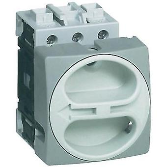 Switch disconnector fuse lockable 63 A 1 x 90 ° Grey BACO BA174301 1 pc(s)
