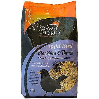 Dawn Chorus Premium vild fugl jorden & tabel Mix 2kg