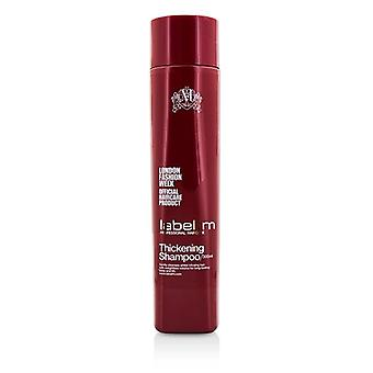 Label.M Thickening Shampoo (Gently Cleansers Whilst Infusing Hair with Weightless Volume For Long-Lasting Body and Lift) 300ml/10oz