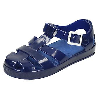 Girls Spot On Flat Casual Jelly Shoes H1075