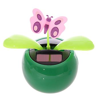 Puckator Novelty Solar Pal Ornament, Green Butterfly