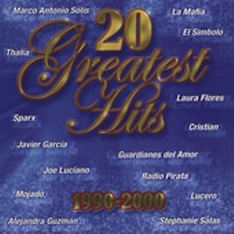 20 greatest Hits 1990-00 - 20 Greatest Hits 1990-00 [CD] USA importerer