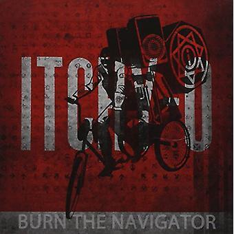 The Itchy-O - Burn Navigator [CD] USA importen